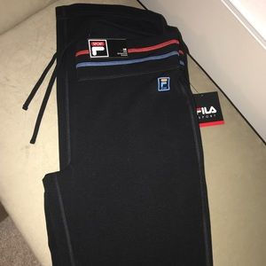 FILA sport pants in medium flare